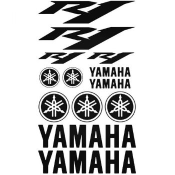 Yamaha R1 Motorbike Stickers Car  Vinyl Decals